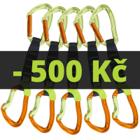 5x NIMBLE EVO SET NY PRO 12cm Green / Orange