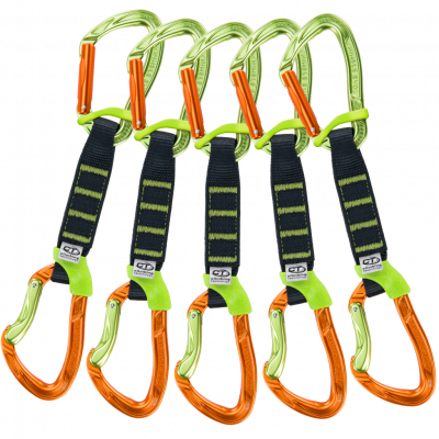 5x NIMBLE FIXBAR SET NY PRO 12cm Green / Orange