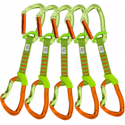 5x NIMBLE FIXBAR SET NY 12cm green / orange