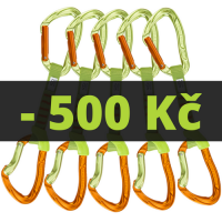 5x NIMBLE EVO SET NY 12cm green / orange
